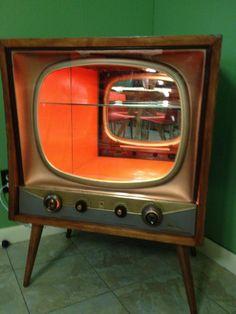 TV Liquor Cabinet
