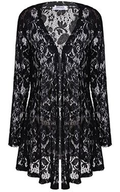Sexy and romantic lace duster no closures. Slip over anything for a sophisticated and sexy look. Lightweight and comfortable. Romantic Lace Duster by House of Atelier. Clothing - Jackets Coats & Blazers - Kimonos & Wraps New Jersey Stylish Dress Designs, Stylish Dresses, Sheer Lace Lingerie, Iranian Women Fashion, Lace Jacket, Romantic Lace, Cardigan Fashion, Lace Tops, Lace Sleeves