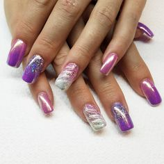 """33 Likes, 4 Comments - Lily (@misslilysnails) on Instagram: """"Greatest unicorn set I ever did!! #OBSESSED #love #followme #nails #nailart #nails2inspire…"""""""
