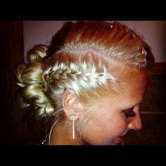 My prom hair <3