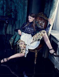 Alexandra Elizabeth Ljadov by Emma Summerton for Vogue China November 2014