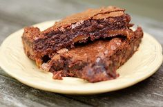 """Turtle brownies....had me at """"turtle."""" ;-) Love anything with that title...know it means caramel is in it."""