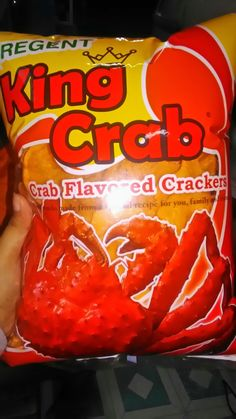 King Crab Crackers from Lady. 10-11-16