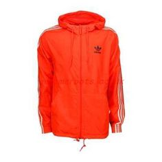 adidas Teorado Full Zip Windbreaker - Men Jackets Orange-Orange -  317454114933 a8dff3a41c
