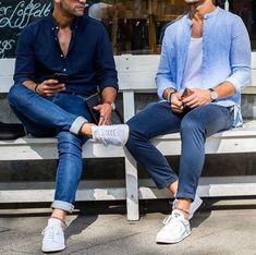 tenis_branco_masculino_jeans_camisa