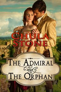 The Admiral and the Orphan by Chula Stone http://www.stormynightpublications.com/the-admiral-and-the-orphan-by-chula-stone/  The Admiral and the Orphan contains spankings of an adult woman, including domestic discipline in a historical setting.