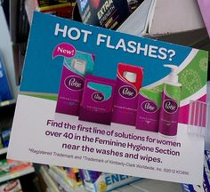 Managing Hot Flashes with #PoiseFab5