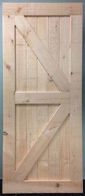 British Brace Barn Door Wood Doors Interior Barn Doors Sliding Interior Barn Doors