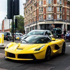 Yellow LaFerrari