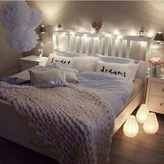 Beautiful bedrooms for couples, bedroom decor for teen girls dream rooms,. Woman Bedroom, Dream Bedroom, Pretty Bedroom, Warm Bedroom, Female Bedroom, Bedroom Romantic, White Bedroom, Bedroom Decor For Teen Girls Dream Rooms, Cozy Bedroom Decor