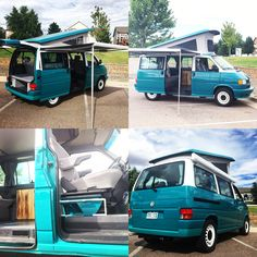 VW Eurovan restored and customized by CaveVan. Volkswagen Transporter T4, T3 Vw, T1 Bus, Volkswagen Bus, Vw Eurovan Camper, T4 Camper, Camper Life, T6 California Beach, Vespa