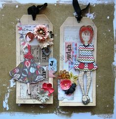 Vanessa Guazzelli: Carimbos Doll Stamp by Julie Nutting Prima