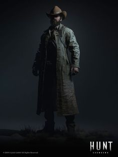A shot that was put together for Marvelous Designer, I was responsible for the outfit and the head/beard was created by Florian Reschenhofer with direction from Abdenour Bachir. Character Concept, Character Art, Concept Art, Apocalypse Armor, Wild Hunter, Fantasy Wizard, West Art, Cowboy Art, Survival