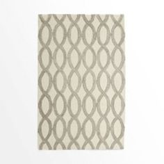 Linking Loops Wool Rug  - Ivory