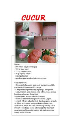 Cake Recipes, Snack Recipes, Dessert Recipes, Resep Cake, Traditional Cakes, Asian Desserts, Indonesian Food, Food Pictures, Food Hacks