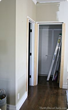 Black and white and awesome all over. Door MoldingMoldingsDoor ... & Door Trim Molding Styles | Trim and Molding | Pinterest | More ... Pezcame.Com