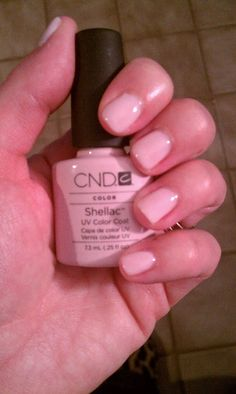 Lipgloss Break: CND Shellac Manicure in Romantique Pretty Nail Colors, Pretty Nails, Shellac Manicure, Manicures, Shellac Colors, Funky Nail Art, Gel Nails At Home, Glam Nails, How To Do Nails