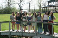 Seniors enjoy the nice weather at a Vineyard along Seneca Lake. #Caz2014  *Photo by: The Cazenovian- Caz College Yearbook.