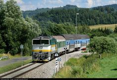 RailPictures.Net Photo: 754 045 3 Ceske Drahy CD 754 at Horice na Sumave, Czech Republic by Jaroslav Dvorak