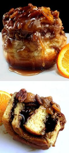 Molten Chocolate Filled Extra Gooey Sticky Buns