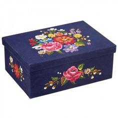 Madame Romantica stitched storage box