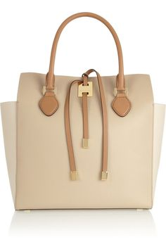MICHAEL KORS | Miranda large color-block leather tote