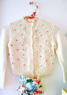 La modista inusual, nestprettythings: Mi suéter favorito de la infancia ...