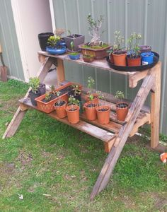 Pallet Plants stand | 1001 Pallets
