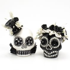 Skull Wedding Cake Topper A00087 #Christmas #thanksgiving #Holiday #quote