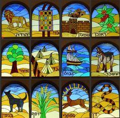 israel tribes symbols - Pesquisa Google