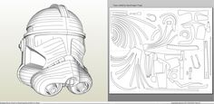 Star Wars - Clone Trooper Phase 2 Helmet +FOAM+ - Pepakura.eu