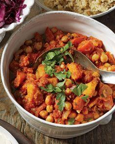 Chickpea and Butternut Squash Stew Recipe