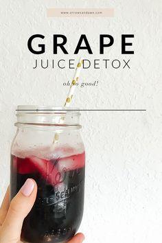 Apple Cider Vinegar with Welch's 100% Grape Juice for this Grape Juice Detox, detox, ACV, ACV detox, apple cider vinegar, apple cider vinegar drink