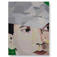 Pete Townshed Art Postcard