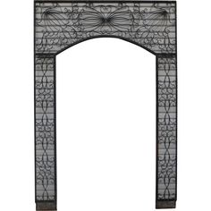 Antique Iron Arch Antique Garden Arch Antique Iron Architectural Antiques  found at www.rubylane.com @rubylanecom