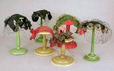 Group of Six Bes-Ben Cocktail Hats - Couture and Textiles | Doyle Auction House