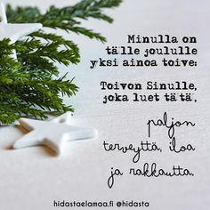 Hyvää joulua jokaiselle teistä ❤️🎄 Mikä on sinun joulussasi tärkeintä? #joulu #rauhoittuminen #läsnäolo #terveys #ilo