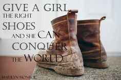 """carolyn waweru jewellery - """"Give a Girl the right Shoes and she can Conquer the World"""" Marilyn Mo"""