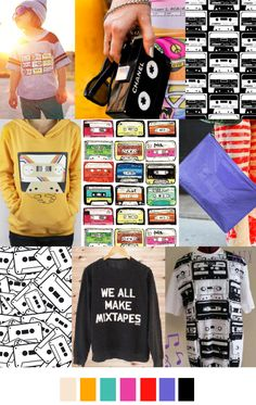 MY AWESOME MIXTAPE | pattern curator