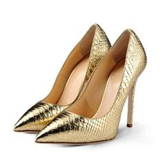 Patent Leather Stiletto Heel Pumps Closed Toe schoenen