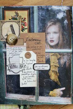 **Mon scrap par Liliema**: ~~ Journal d'automne la suite ~~