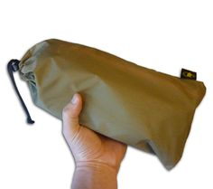 This multipurpose emergency tarp is rugged enough for day-to-day use and compact enough for every day carry.