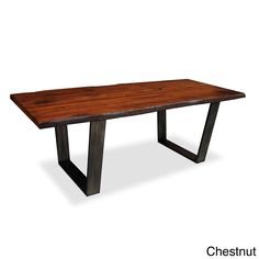 Made to Order Soho Live Edge Dining Table - Overstock™ Shopping - Great Deals on South Cone Home Dining Tables