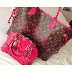 Louis Vuitton, hermeslouboutinlouis, and luxuryinmyhands image