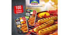 100 Tester für Hochland Käse Griller