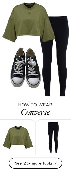 """Chill Up"" by diana2631 on Polyvore featuring NIKE and Converse"