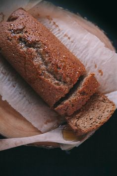Earl Grey Honey Whiskey Cake by the Baking Bird