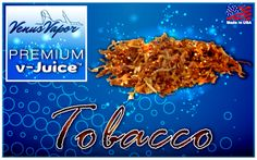 The taste of a classic tobacco cigarette. Our V-juice is 100% made in USA.