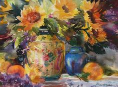 WATERCOLOR by Betty Carr Watercolor ~  x