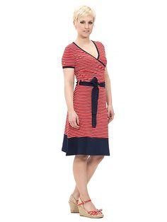 Lemon Dress, red striped